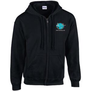 AAS hoodie zipped