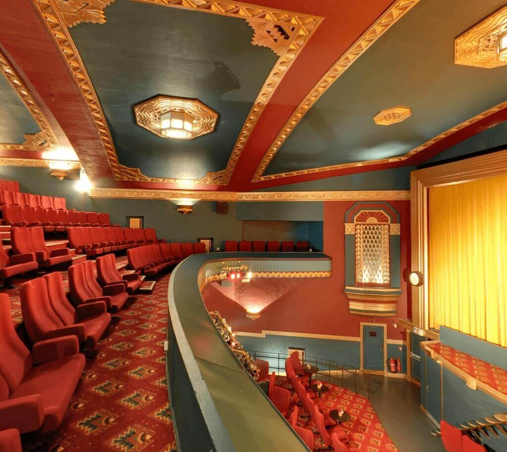 regal cinema evesham interior